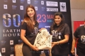 Shruti Hassan pledges her support to Earth Hour 2013 Hyderabad Photos