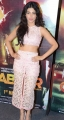 Actress Shruti Haasan Stills @ Gabbar Is Back Trailer Launch