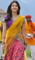 Shruti Hassan Hot Stills in Saree from Gabbar Singh