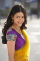 Gabbar Singh Shruti Hassan Hot Saree Stills