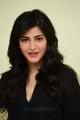 Actress Shruti Hassan in Black Shirt Photos