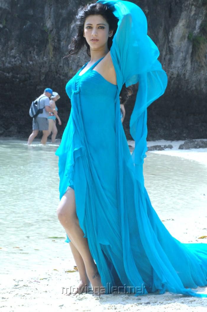 Shruti Hassan Blue