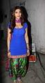 Shruti Hassan Hot Images in Blue Salwar Kameez