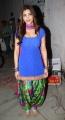 Shruti Hassan in Blue Salwar Kameez Hot Images