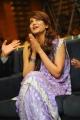 Telugu Actress Shruti Hassan in Violet Saree Cute Photos