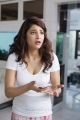 Actress Shruti Hassan in White Top & Night Pant Pictures