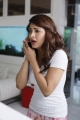Actress Shruti Hassan New Pictures in White Top & Night Pant