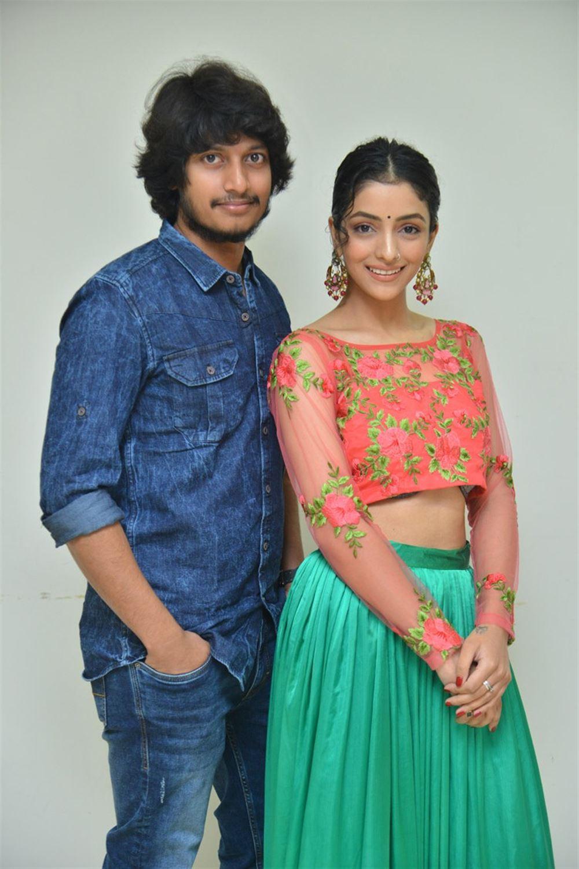 Sreenivasa Sayee, Diksha Sharma Raina @ Shubhalekha+Lu Movie Pre Release Event Photos