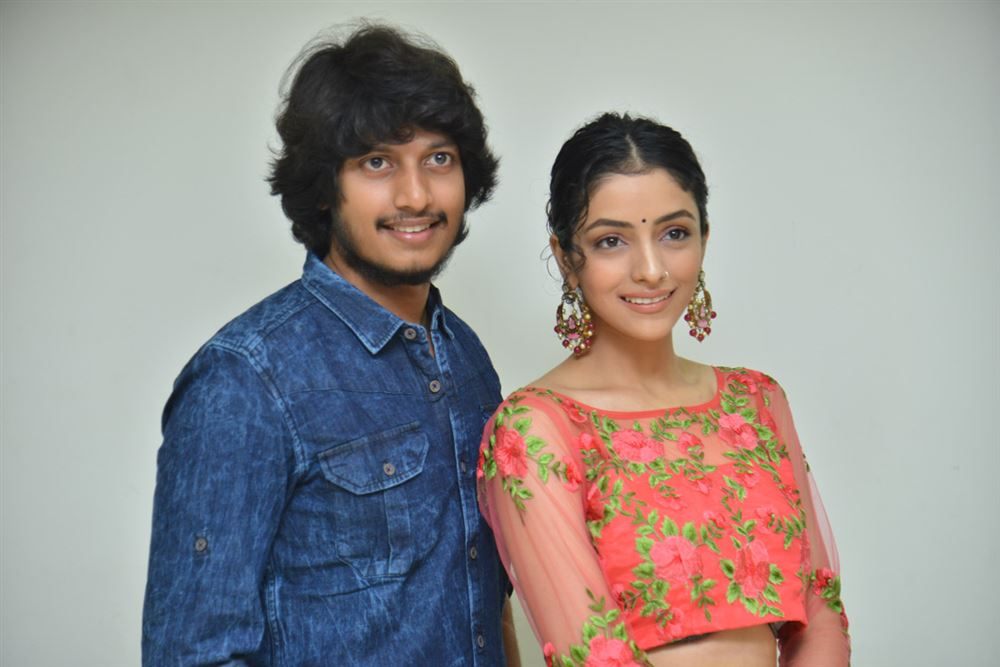 Sreenivasa Sayee, Diksha Sharma Raina @ Shubhalekha+Lu Movie Pre Release Event Photos