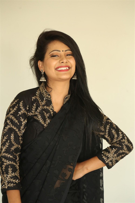 Actress Shubhangi Pant Images @ Darpanam Movie Press Meet