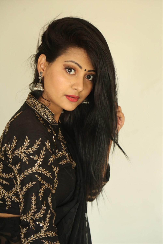 Actress Shubhangi Pant Images @ Darpanam Press Meet