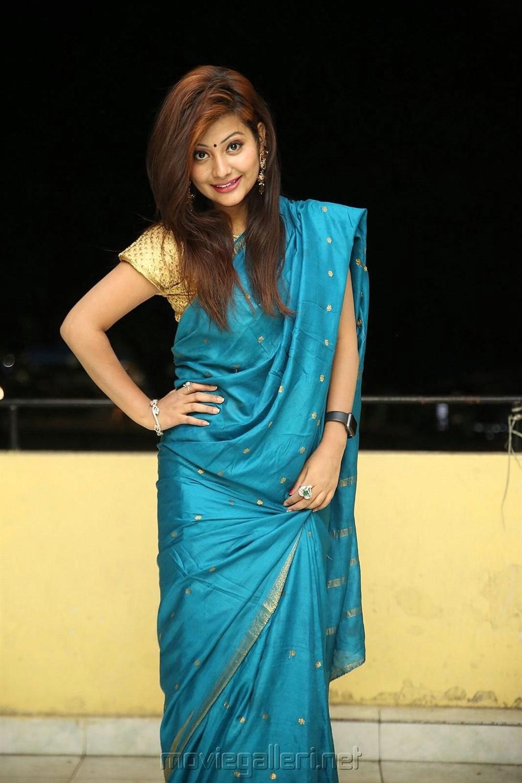 Actress Shubhangi Pant Photos @ Super Sketch Press Meet