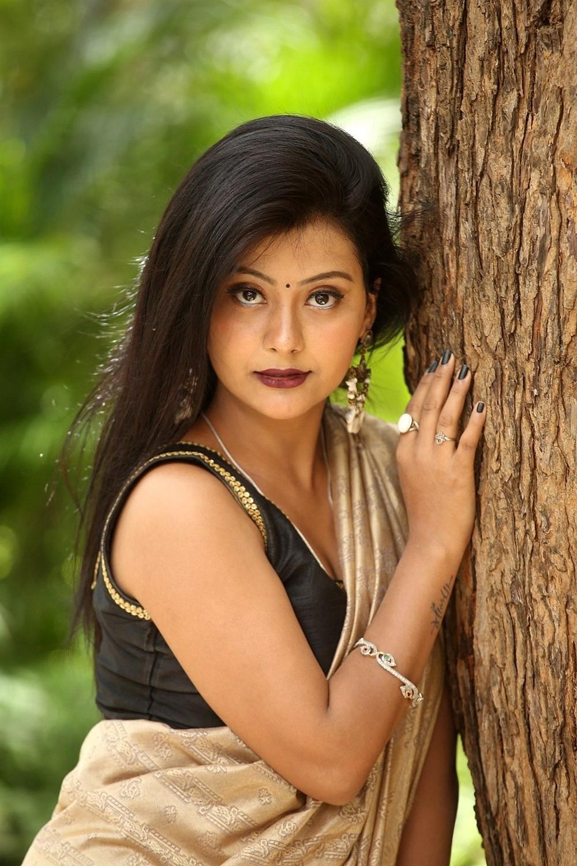 Actress Shubhangi Panth New Pics @ Nee Kosam Movie Trailer Launch