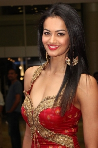 Telugu Actress Shubra Aiyappa Hot Pics in Red Dress