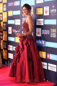Actress Shubra Aiyappa Stills @ SIIMA Awards 2018 Red Carpet