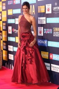 Actress Shubra Aiyappa Stills @ SIIMA Awards 2018 Red Carpet (Day 1)