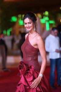 Actress Shubra Aiyappa Hot Stills @ SIIMA Awards 2018 Red Carpet (Day 1)