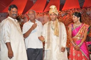 Shyam Prasad Reddy Daughter Deepthi Wedding Stills