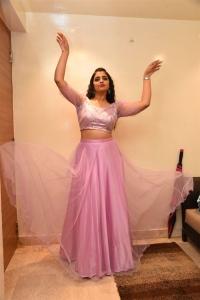 Anchor Shyamala Cute Pics @ Bangaru Bullodu Pre-Release