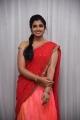 Anchor Shyamala in Pink and Red Half Saree Photos