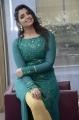 Anchor Syamala in Teal Blue Slit Dress Images