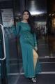Anchor Shyamala in Teal Blue Slit Dress Images