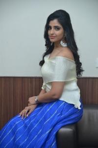 Anchor Shyamala Pictures @ Maestro Movie Pre Release