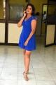 Telugu Actress Shylaja N in Blue Dress Images