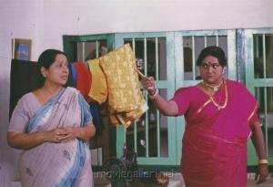 Actress Sathyapriya in Sibi Tamil Movie Stills