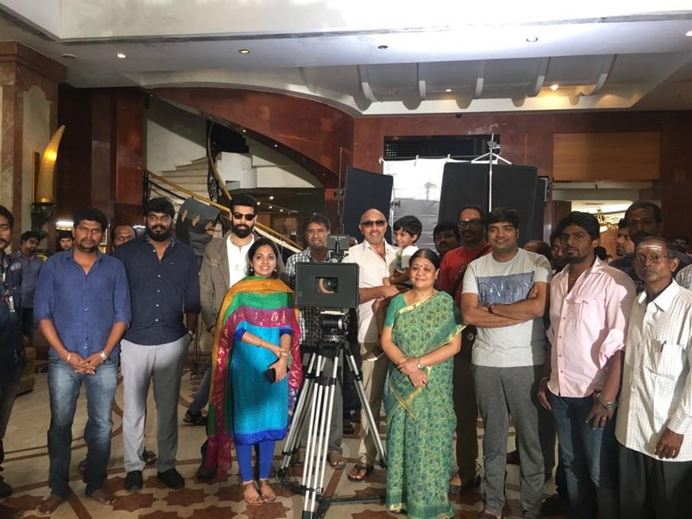 Sibiraj Nathambal Film Factory Production No 3 Pooja Stills
