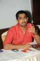 Siddharth Narayanan Interview Photos about Something Something Movie