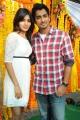 Siddharth and Samantha Movie Launch Stills