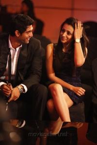 Rana Daggubati-Trisha at South Indian International Movie Awards 2012 Photos