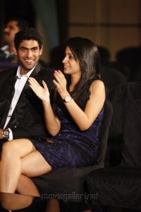 Rana, Trisha at South Indian International Movie Awards 2012 Photos