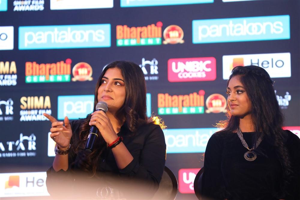 Manjima Mohan @ Pantaloons SIIMA 2019 Chennai Press Meet Stills
