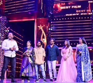 2D Entertainment won Best Film (Tamil) award for Soorarai Pottru movie @ SIIMA Awards 2021