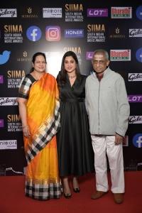 Brinda Prasad father mother @ SIIMA Awards 2021 Function