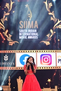 Singer Madhupriya Peddinti @ SIIMA Awards 2021 Function