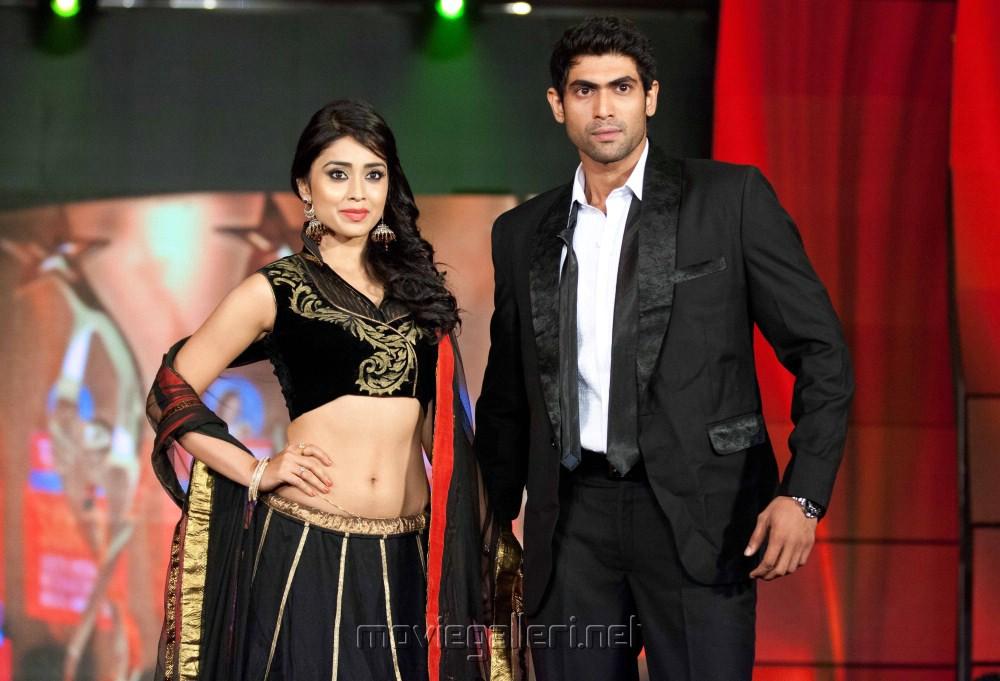 Shriya, Rana Daggubati at SIIMA Awards 2012 in Dubai Day1 Stills