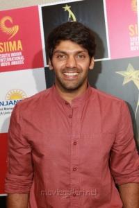 Actor Arya at SIIMA Awards 2013 Announcement Stills