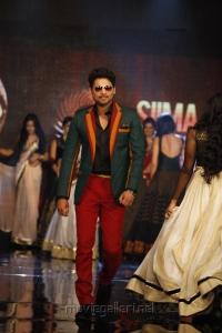 Ajmal Ameer ramp walk at SIIMA Awards Fashion Show Stills