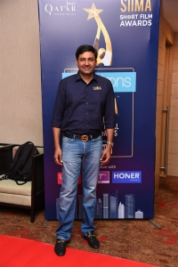Vishnu Induri @ SIIMA Awards 2019 Curtain Raiser Event Stills