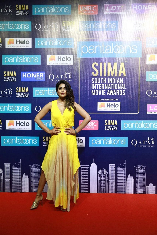 Actress Shriya Saran @ SIIMA Short Film Awards 2019 Press Meet Stills