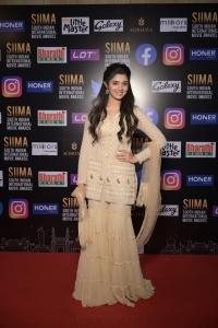 Actress Krithi Shetty @ SIIMA 2021 Awards Red Carpet Day 2 Pics