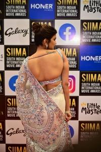 Manchu Lakshmi @ SIIMA 2021 Awards Red Carpet Day 2 Pics