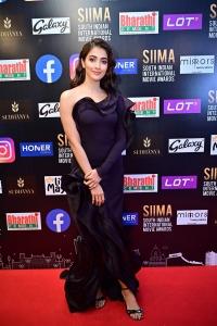 Actress Pooja Hegde @ SIIMA 2021 Awards Red Carpet Day 2 Pics