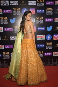 Shubra Aiyappa @ SIIMA 2021 Awards Red Carpet Day 2 Pics
