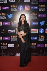 Varsha Bollamma @ SIIMA 2021 Awards Red Carpet Day 2 Pics