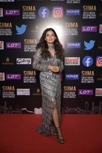 Anna Ben @ SIIMA 2021 Awards Red Carpet Day 2 Pics