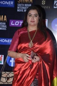 Sumalatha @ SIIMA Awards 2021 Red Carpet Day 1 Photos